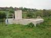Poste de refoulement (2 pompes de 57 m3/h), combiné à un bassin de retenue de pollution de 100 m3