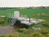 Poste de refoulement de Moineville (2 pompes de 160 m3/h), combiné à un bassin de retenue de pollution de 300 m3