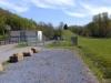 Poste de refoulement (2 pompes de 65 m3/h), combiné à un bassin de retenue de pollution de 160 m3